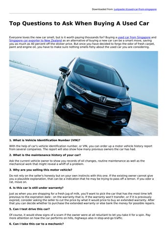 Questions To Ask When Buying A Car >> Top Questions To Ask When Buying A Used Car Lay Automarch 28