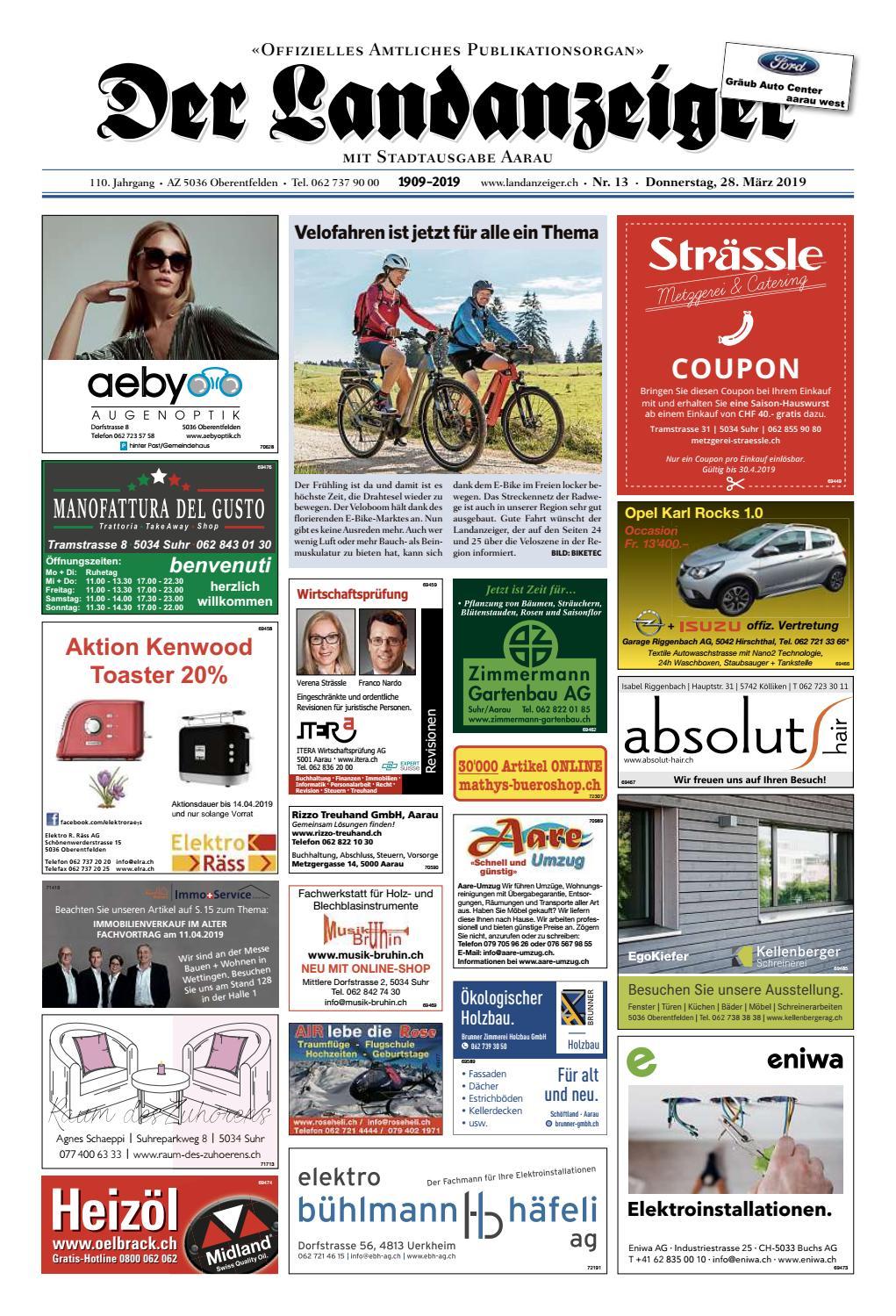 d9a50938ea9873 Der Landanzeiger 13 19 by ZT Medien AG - issuu