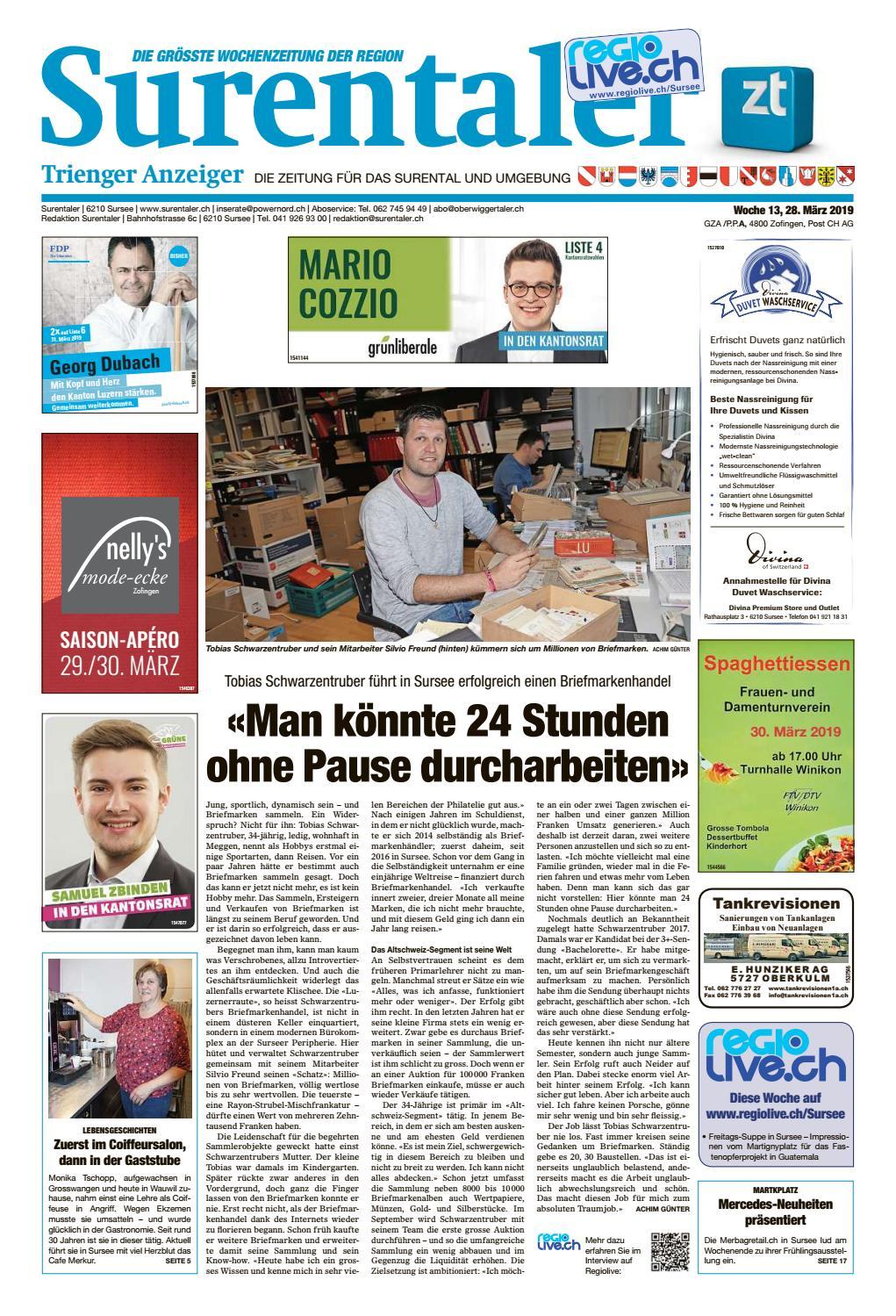 9f50daa041715 Surentaler 13/19 by ZT Medien AG - issuu