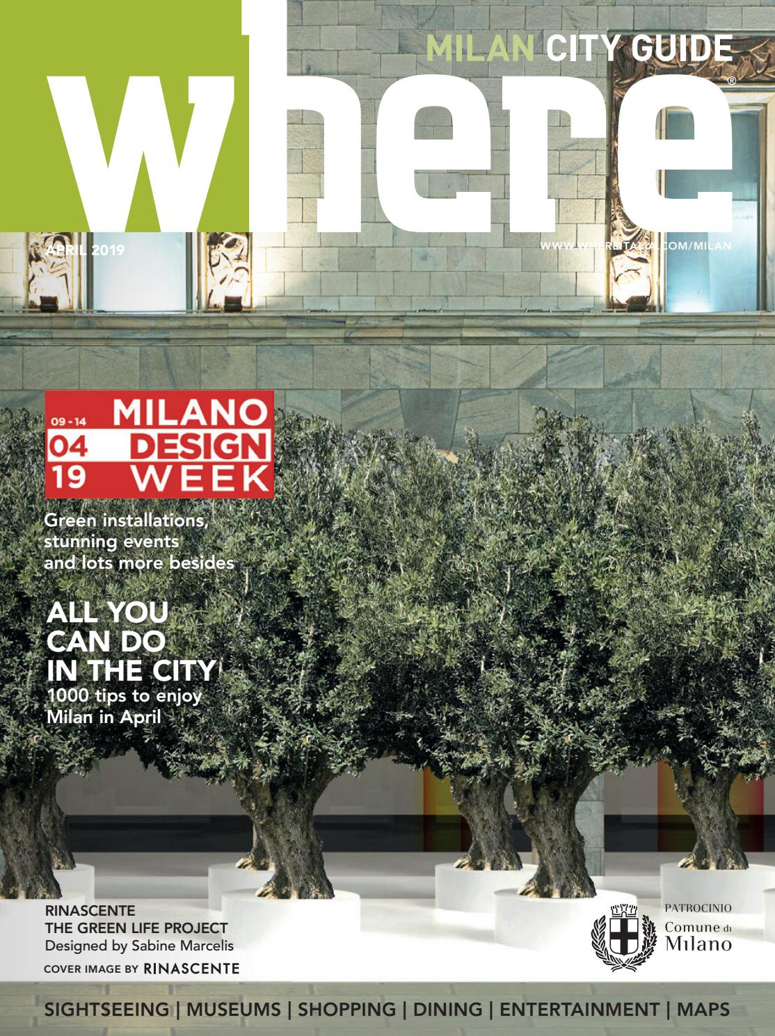 Where Milan N 102 April 2019 By Where Italia Issuu