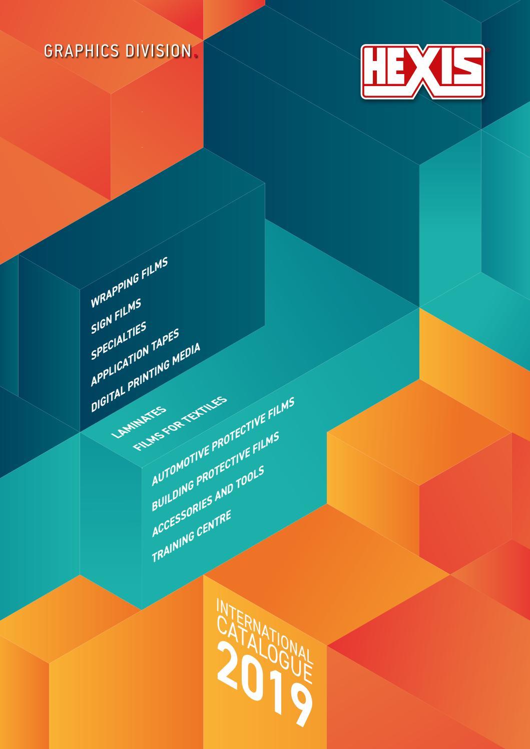 7213d6615fb Catalogue HEXIS 2019 - Export - EN by HEXIS Graphics - issuu