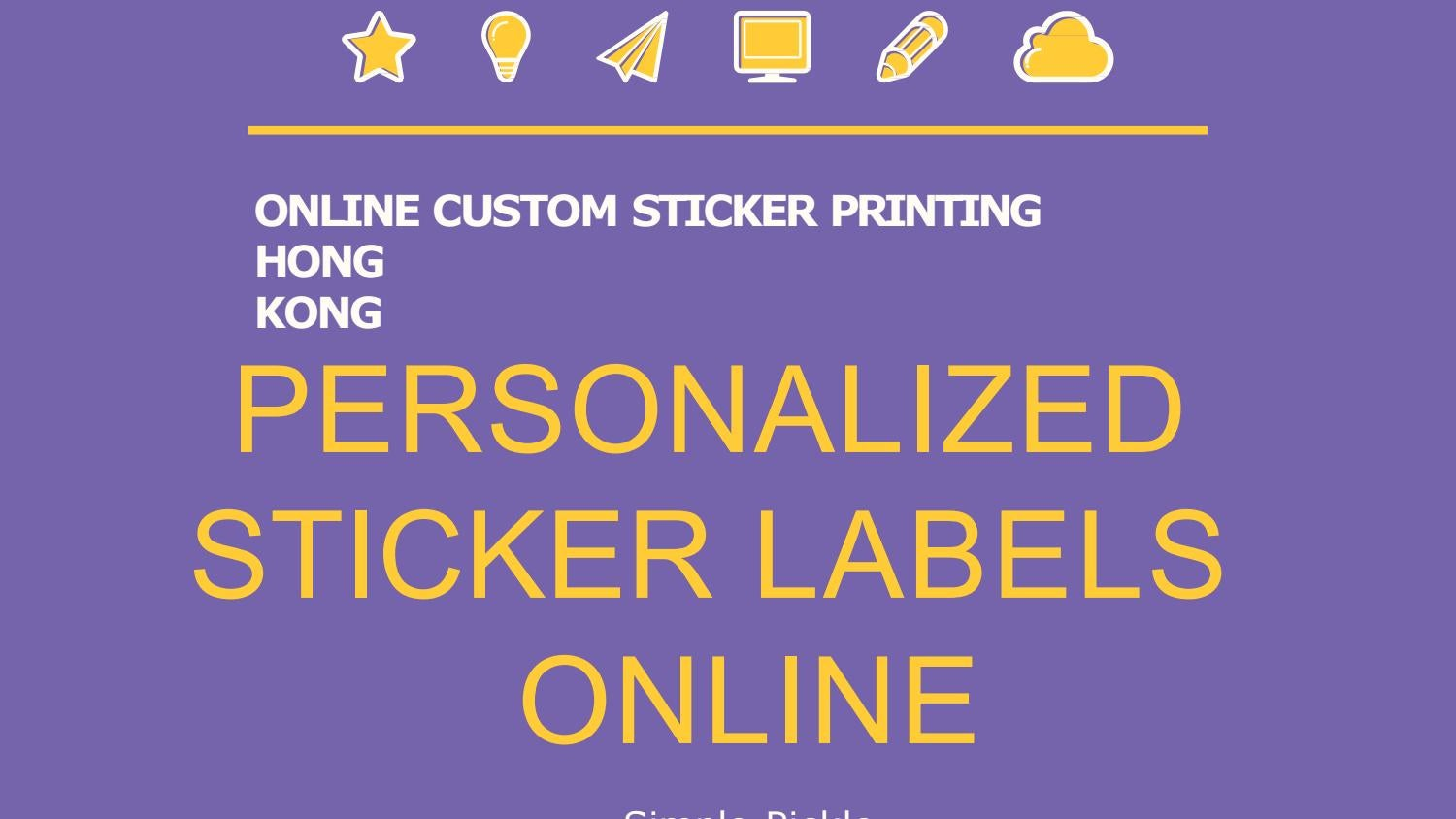 Personalized sticker labels online simple pickle by simplepickle355 issuu