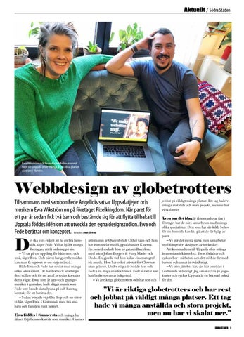 Page 9 of Webbdesign av globetrotters