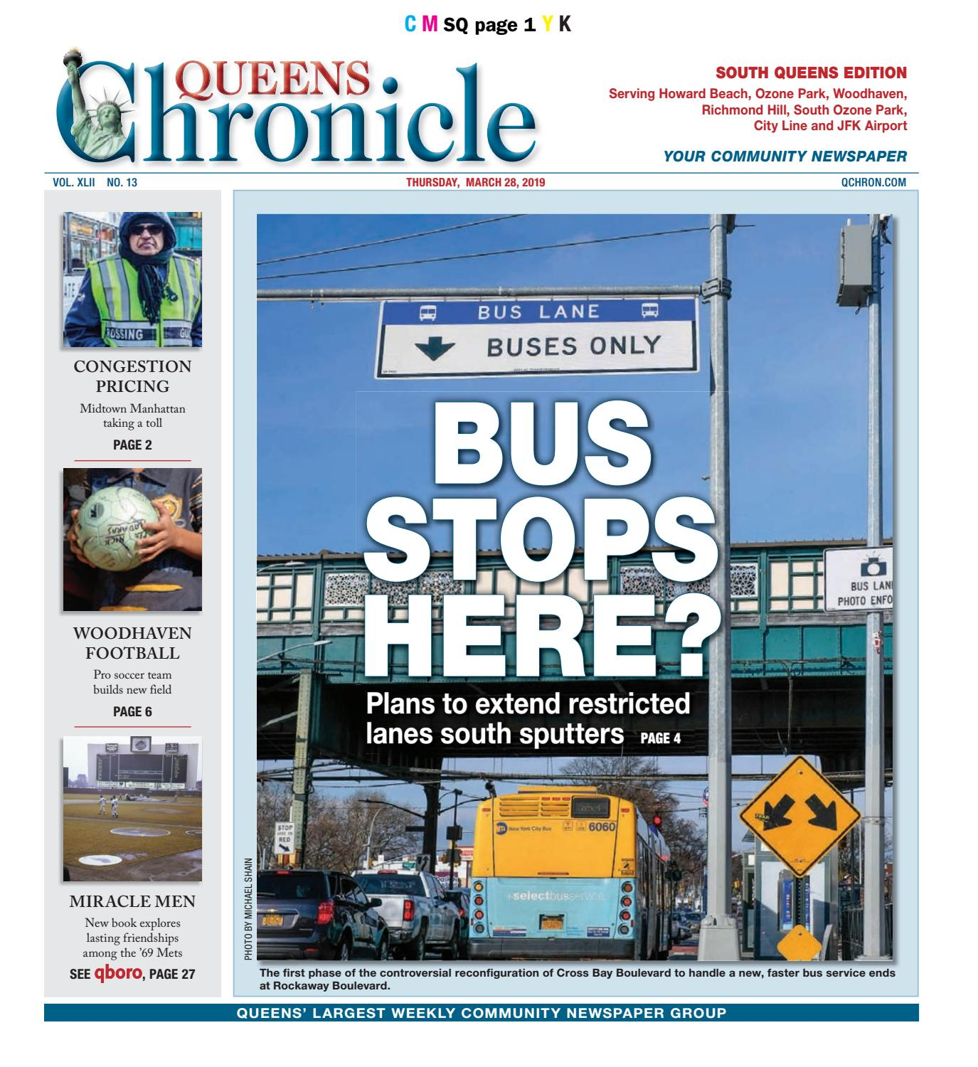 Queens Chronicle South Edition 03-28-19 by Queens Chronicle
