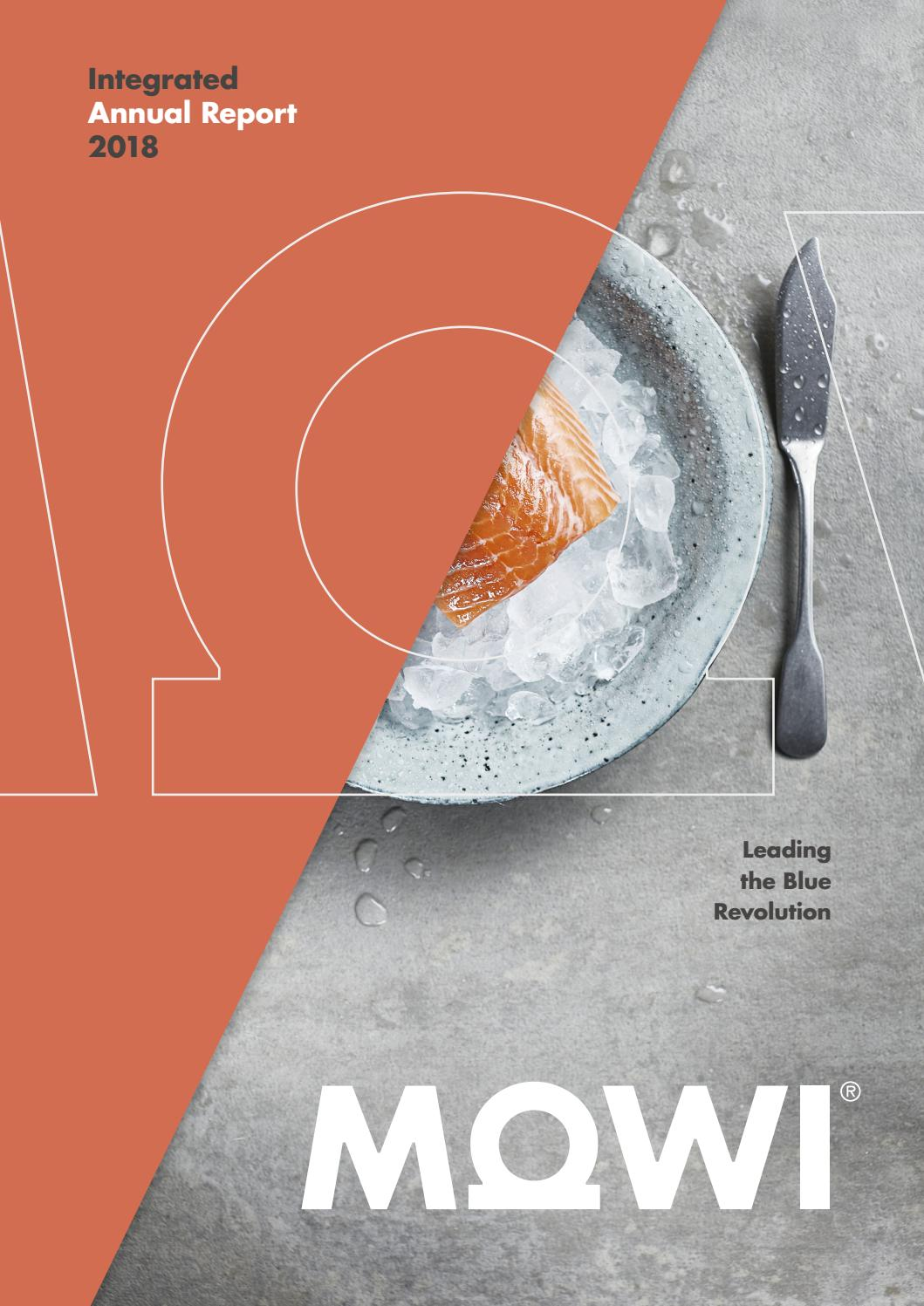 Mowi Annual Report 2018 By Bodoni Issuu