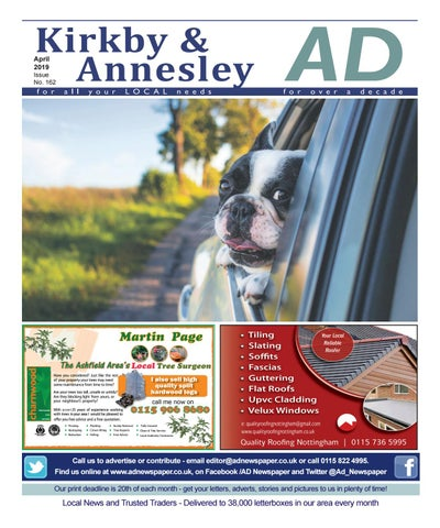 Ad Newspaper for Kirkby in Ashfield, Mansfield Nottingham