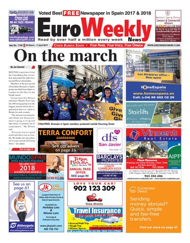 14e461b3231b5 Euro Weekly News - Costa Blanca South 28 March - 3 April 2019 Issue 1760