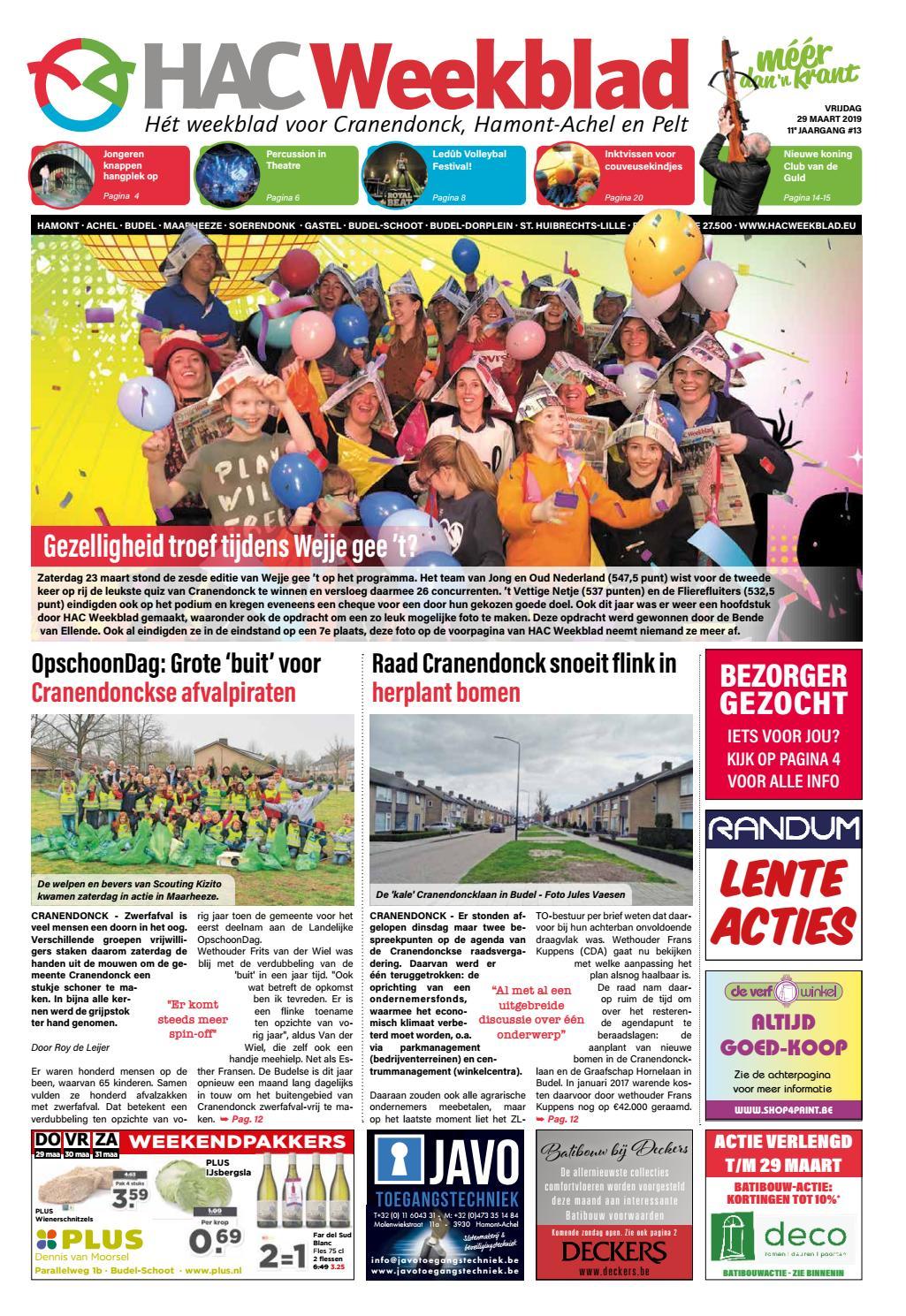 05c98ad5cc31a0 HAC Weekblad week 13 2019 NL by HAC Weekblad - issuu