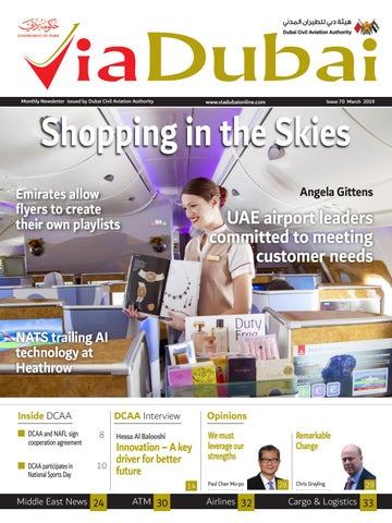 VIA DUBAI ENGLISH MARCH 2019 by Nadd Al Shiba PR & Event