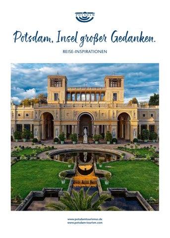 Reisemagazin Potsdam 2019 Insel Grosser Gedanken By