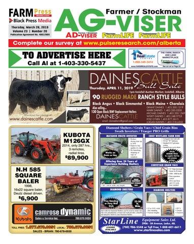 Northern Alberta Agvisor, March 28, 2019 by Black Press