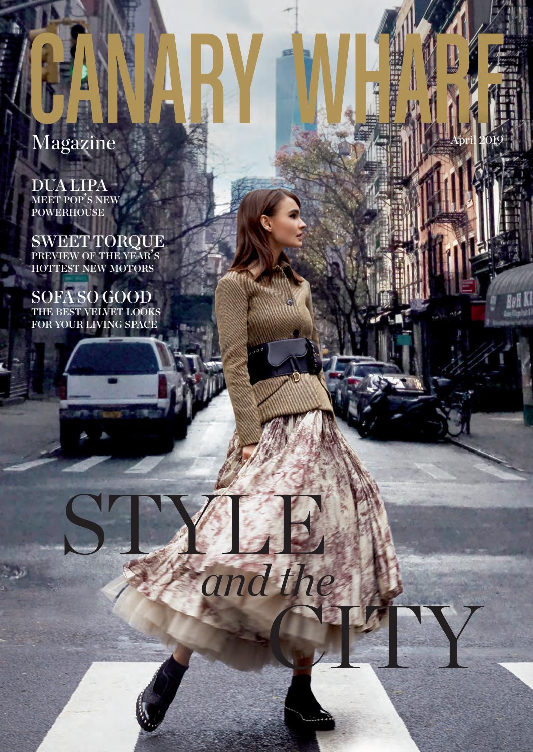 eaa8ddb24 Canary Wharf Magazine April 2019 by Luxury London Media - issuu