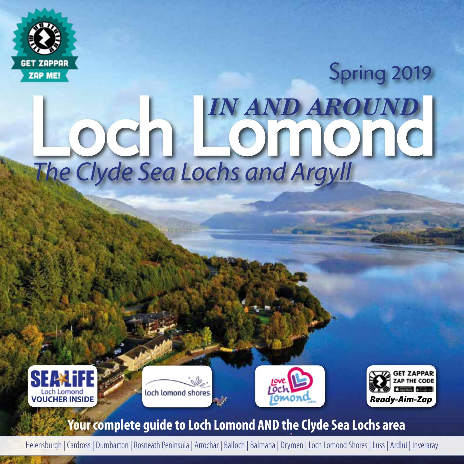 In Around Loch Lomond Visitor Guide By Downtown Publishing Issuu