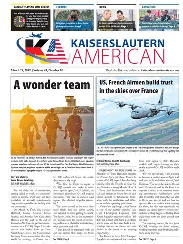 Kaiserslautern American, March 29, 2019 by AdvantiPro GmbH