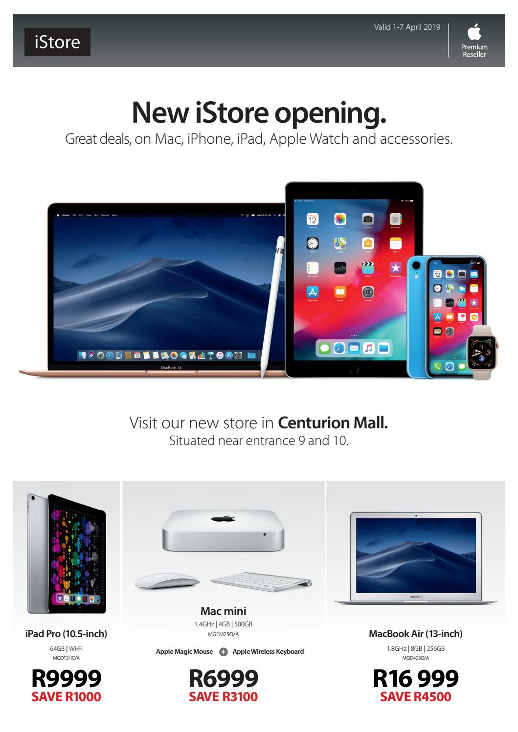 New iStore opening deals by iStore SA - issuu
