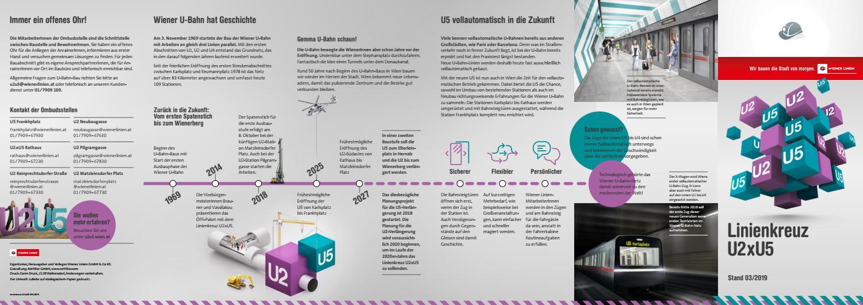 Infofolder U2xu5 By Wiener Linien Issuu