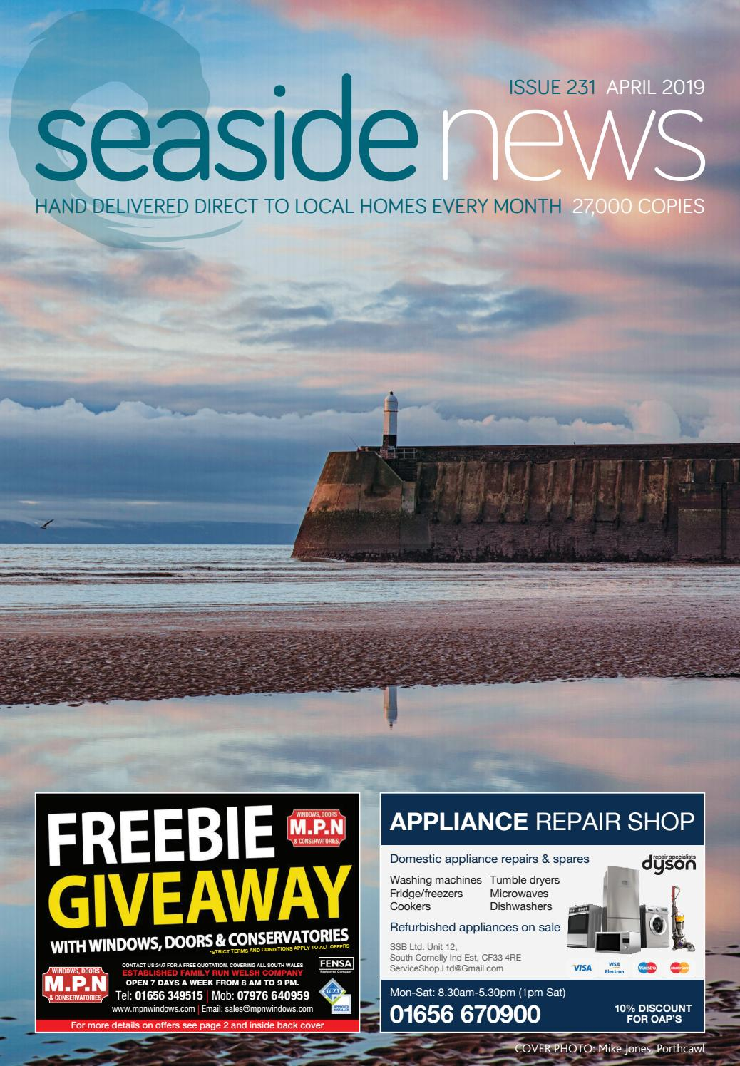 70022e96bd SEASIDE NEWS - APRIL 2019 ISSUE by Seaside News - issuu