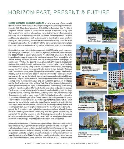 Page 2 of Horizon Past, Present & Future