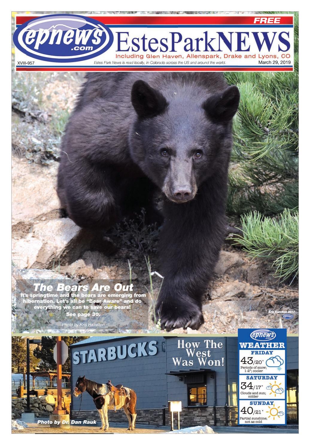 Estes Park News, March 29, 2019 by Estes Park News, Inc - issuu