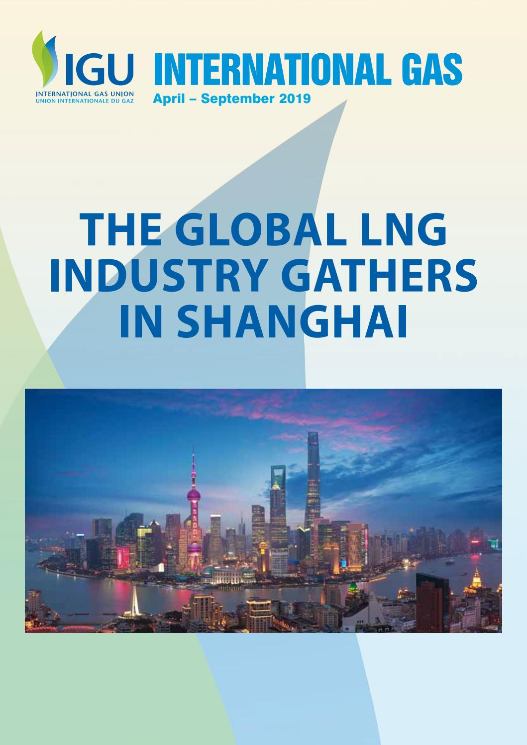 International Gas Spring 2019 by International Systems and