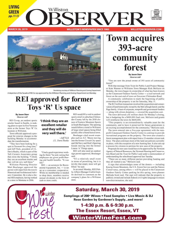 Williston Observer 3-28-19 by Williston Publishing - issuu