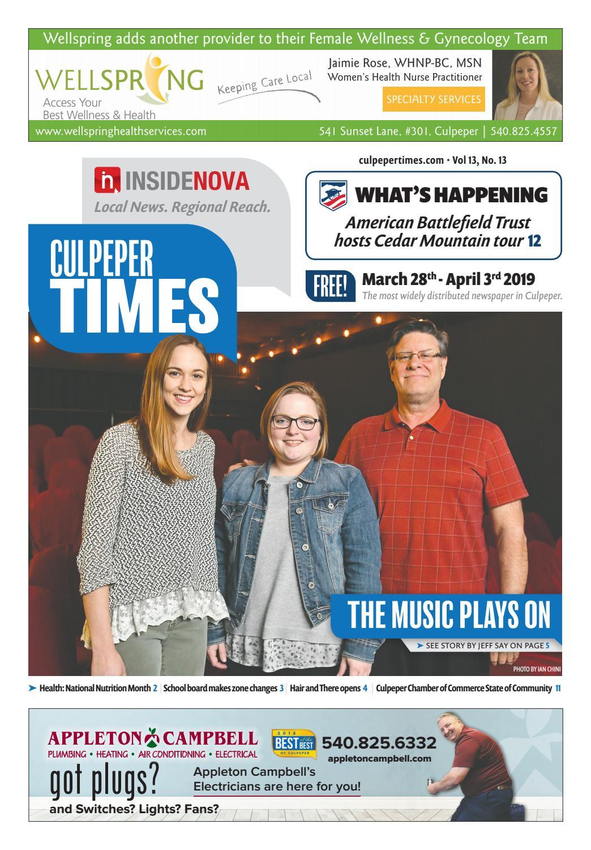 a0dd9f3ba Culpeper Times - March 28-April 3 by InsideNoVa - issuu