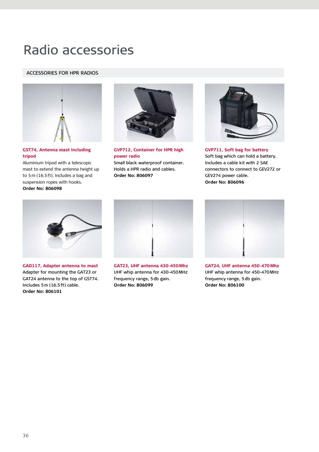 Accessories Catalogue by hexagon - issuu