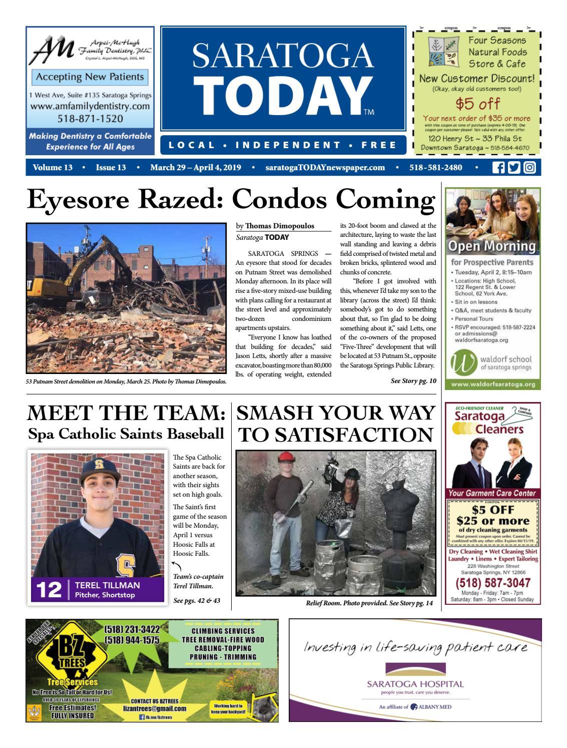 Saratoga TODAY 3 29 19 by Saratoga TODAY - issuu