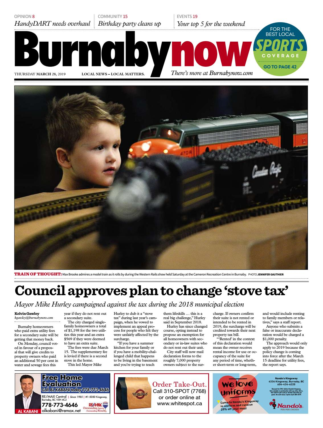 Burnaby Now March 28 2019 by Burnaby Now - issuu