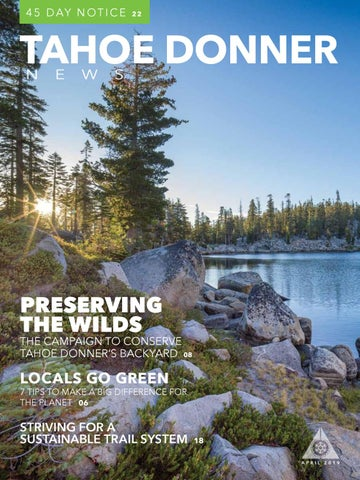 Tahoe Donner News April 2019 by Tahoe Donner Association - issuu