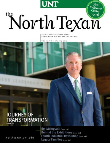The North Texan - UNT Alumni Magazine - Spring 2019 by