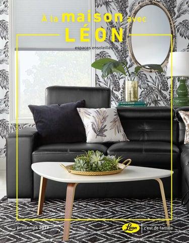 A La Maison Avec Leon Printemps 2019 By Leon S Furniture Issuu