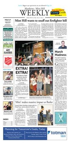 Matthews-Mint Hill Weekly March 22, 2019 by Carolina Weekly
