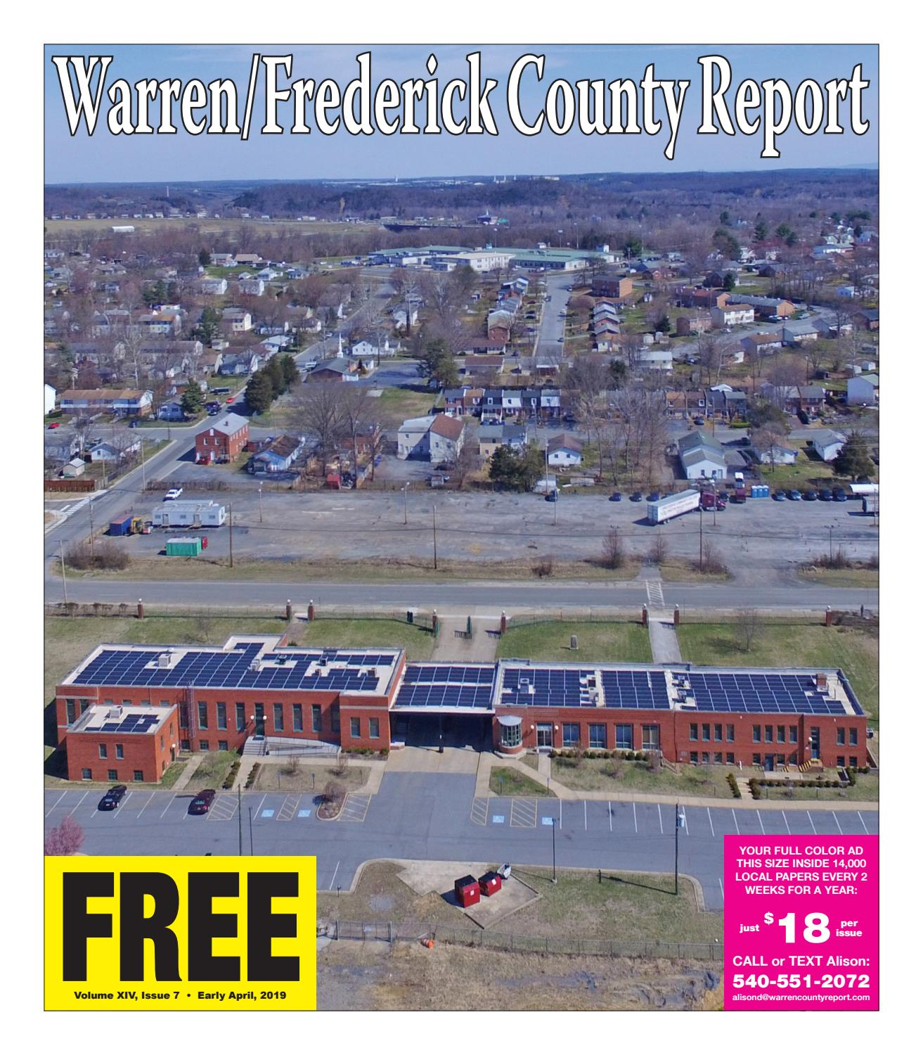 Early April 2019 Warren/Frederick County Report by Warren
