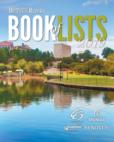 2019 Columbia Business Report Book Of Lists By Sc Biz News Issuu