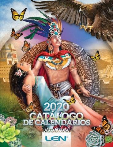 Calendario De Hacienda 2020.Catalogo De Calendarios Len 2020 By Calendarios Len Issuu