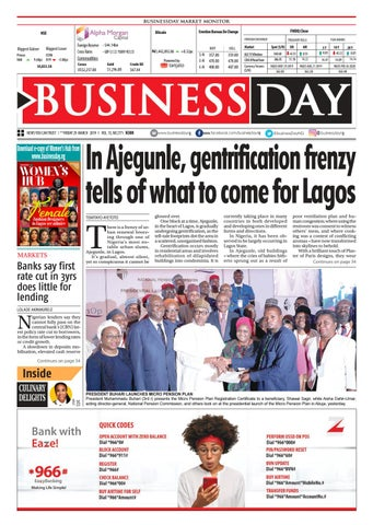 9bd39be5e BusinessDay 29 Mar 2019 by BusinessDay - issuu