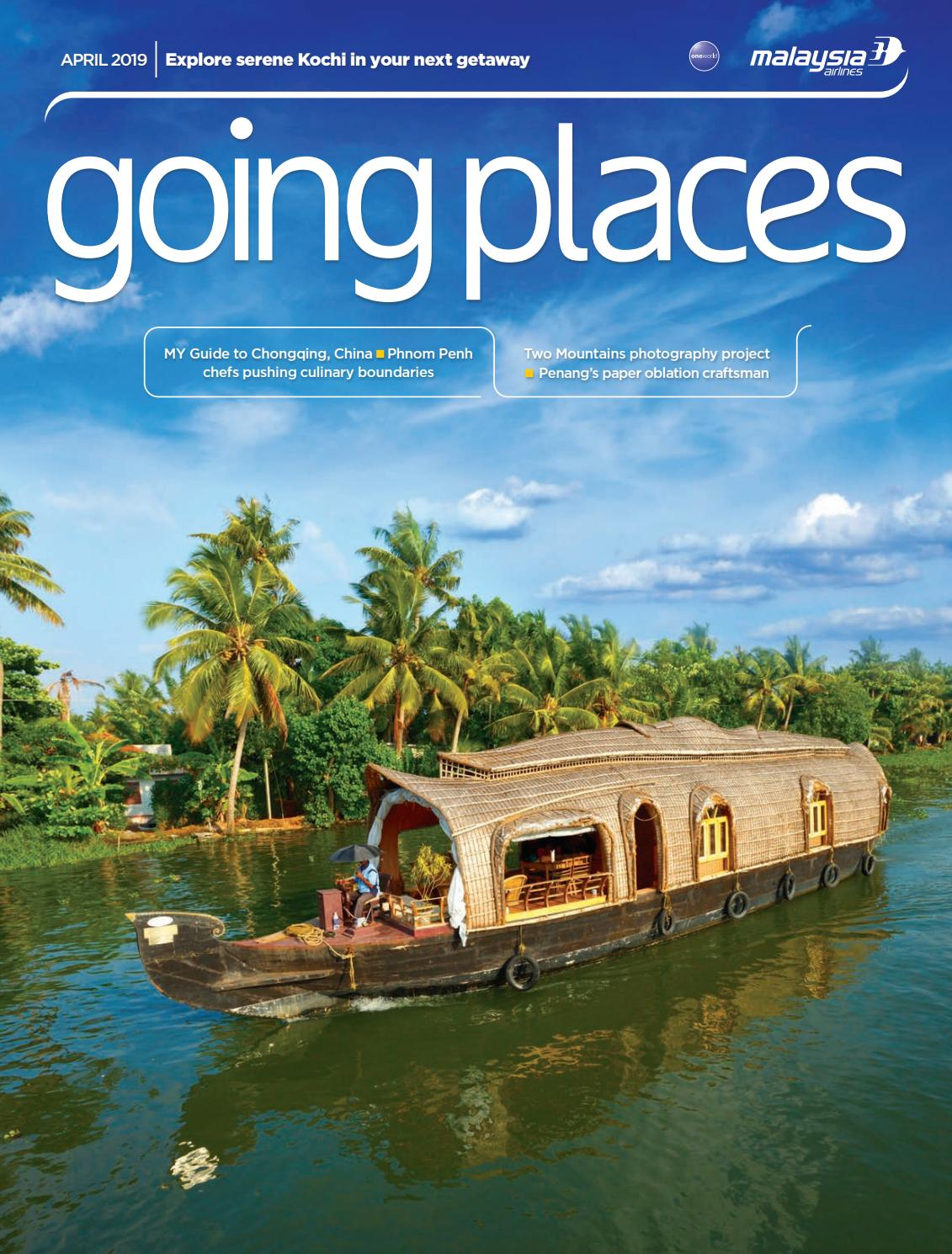 Going Places April 2019 by Spafax Malaysia issuu
