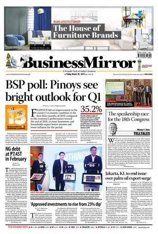 Businessmirror March 29, 2019 by BusinessMirror - issuu