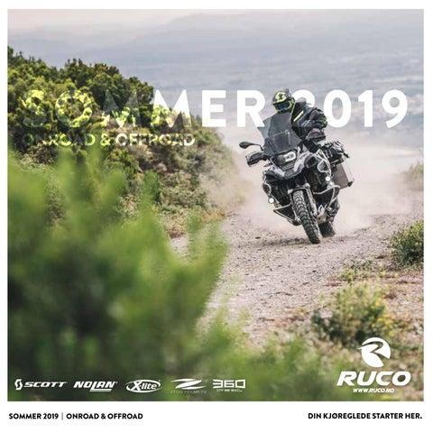 67aa9f16 Sommerkatalogen 2019 Onroad & Offroad by Ruco Scandinavia - issuu
