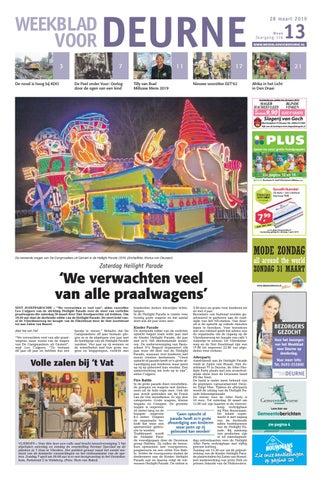 Weekblad Voor Deurne 28 03 2019 By Das Publishers Issuu
