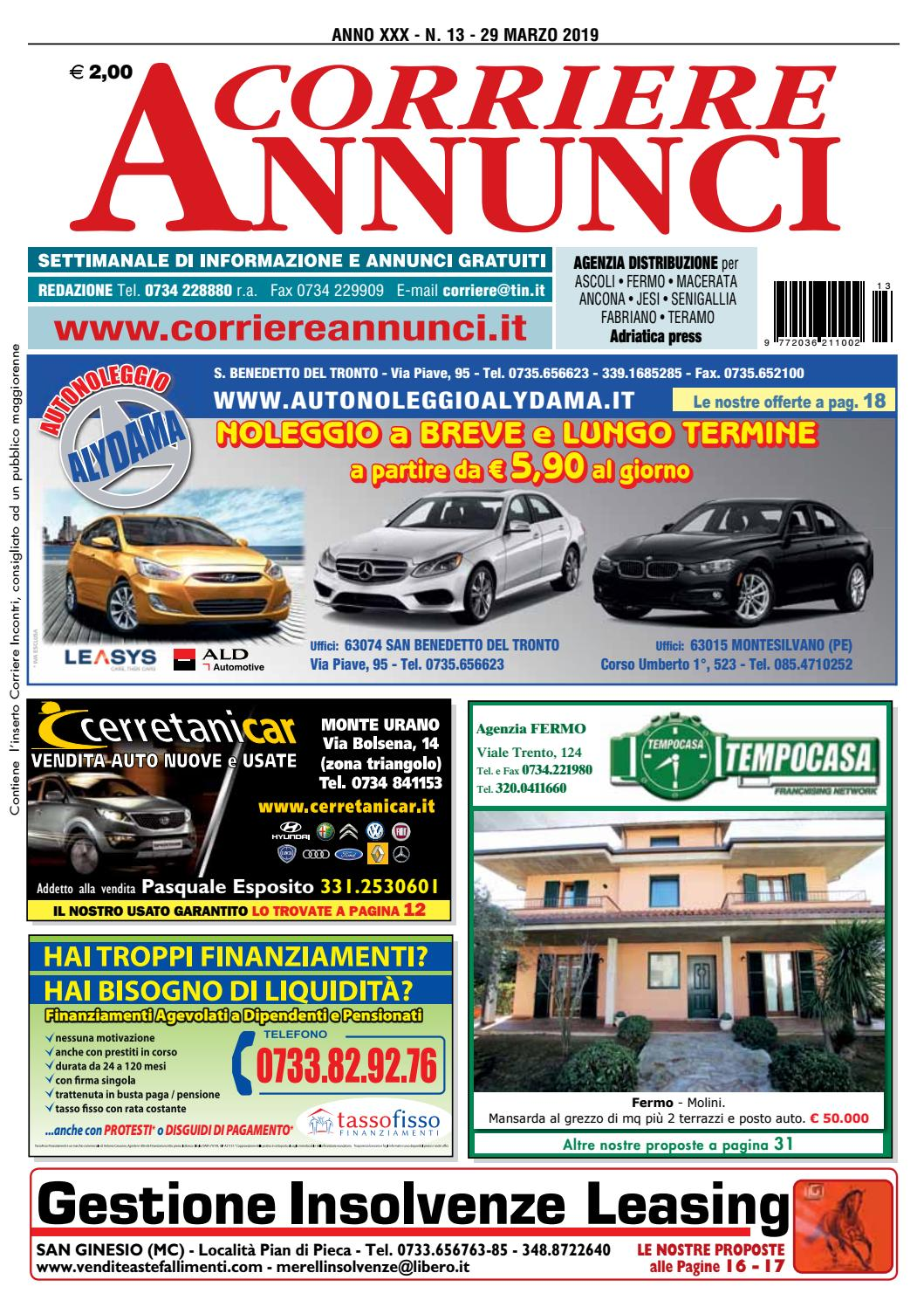 c92435e329 Corriere 13-2019 by Corriere Annunci - issuu