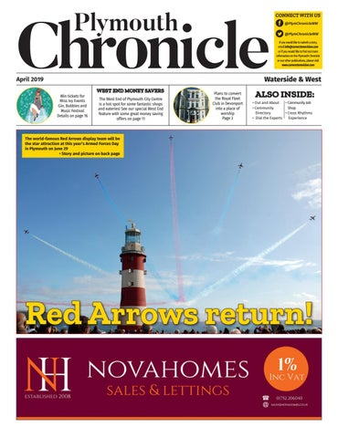 0cf078ab Plymouth Chronicle Waterside & West April 2019 by Cornerstone Vision ...
