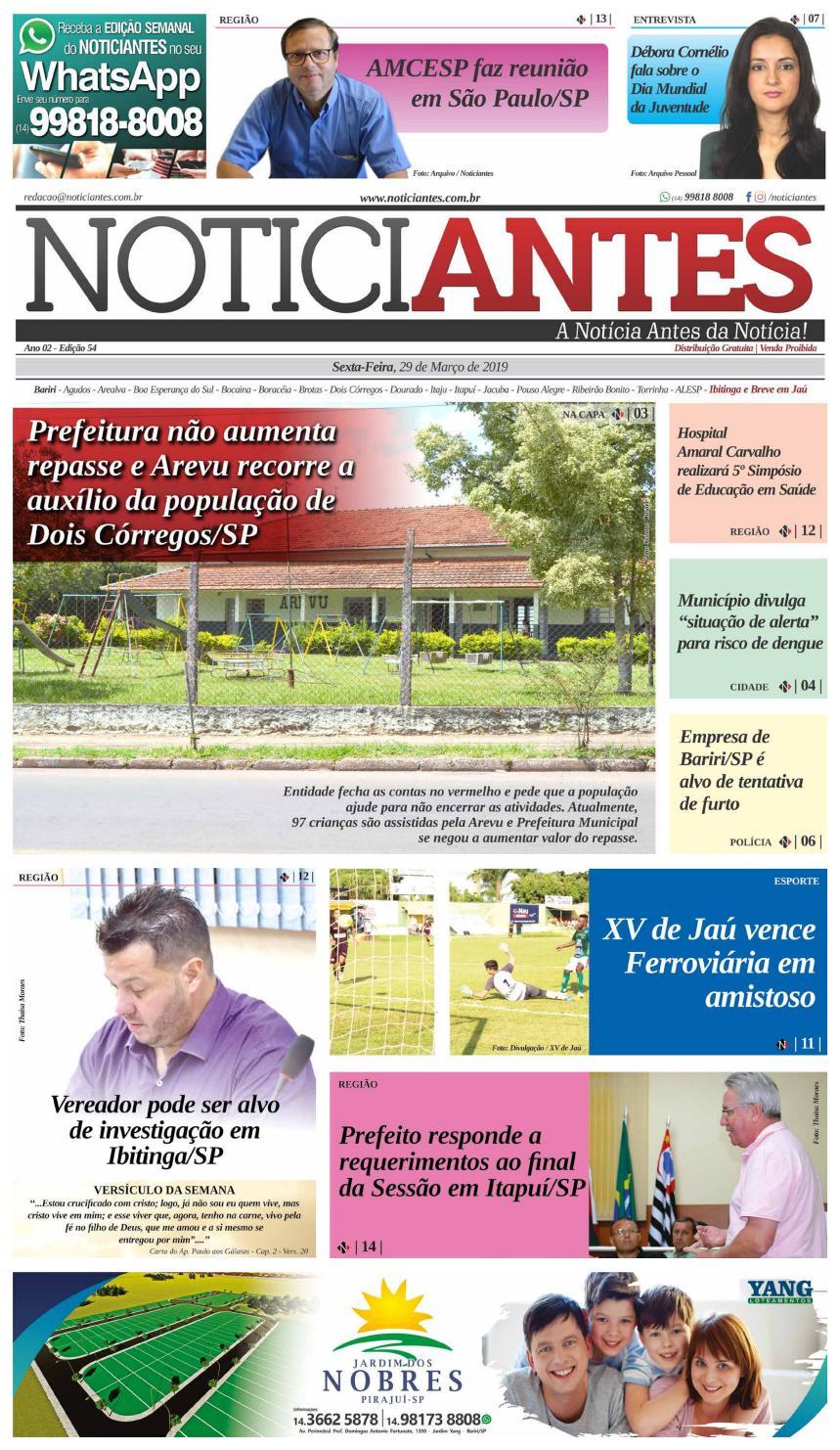 91aa516e8e67 Jornal Noticiantes - Edição 054 by Jornal Noticiantes - issuu