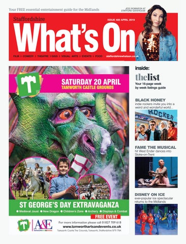 Staffordshire What's on April 2019 by What's On Magazine for