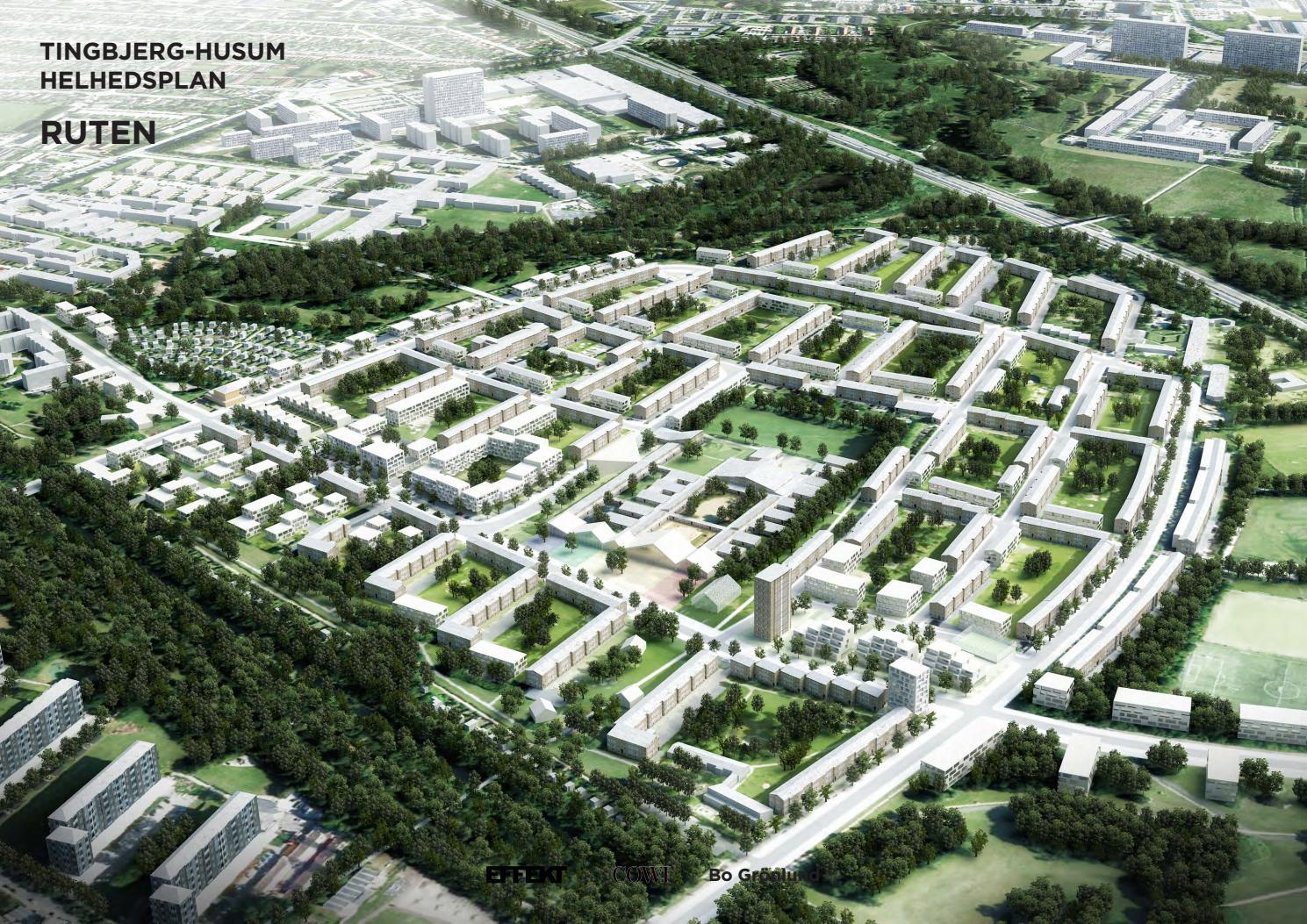 Helhedsplan Ruten 2015 By Tingbjerg Byudvikling Issuu
