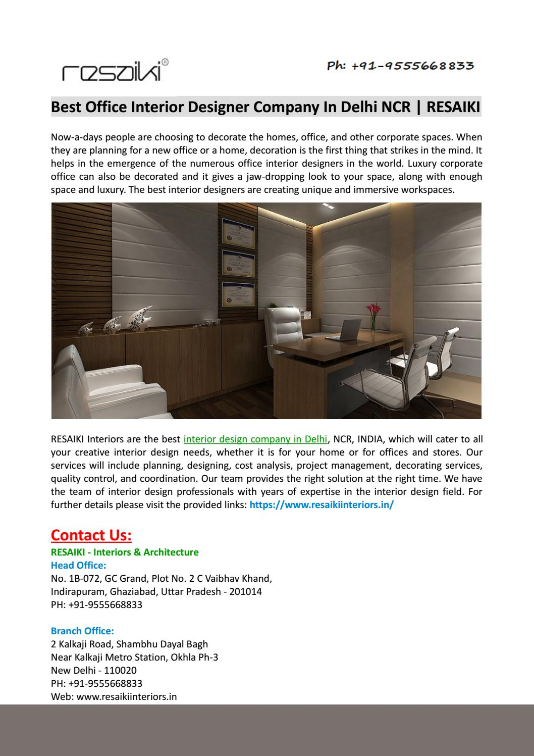 interior designers company in delhi new delhi