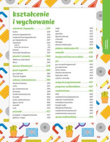 Katalog żłobek I Przedszkole 20192020 Kształcenie I