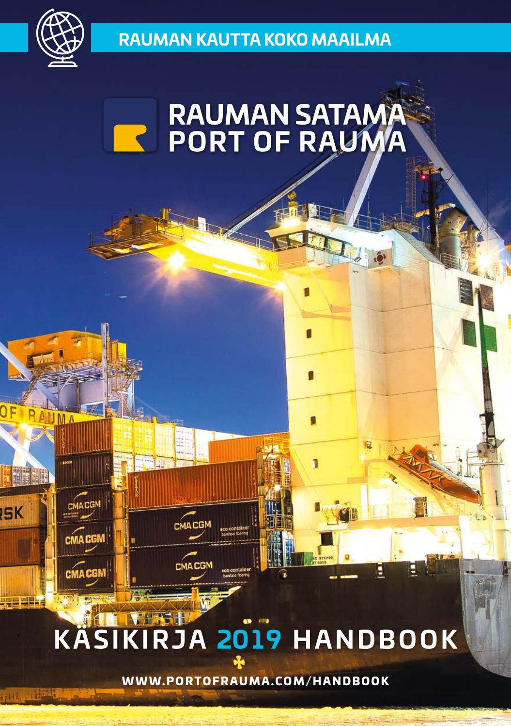 Rauman Satama Port Of Rauma Kasikirja Handbook By
