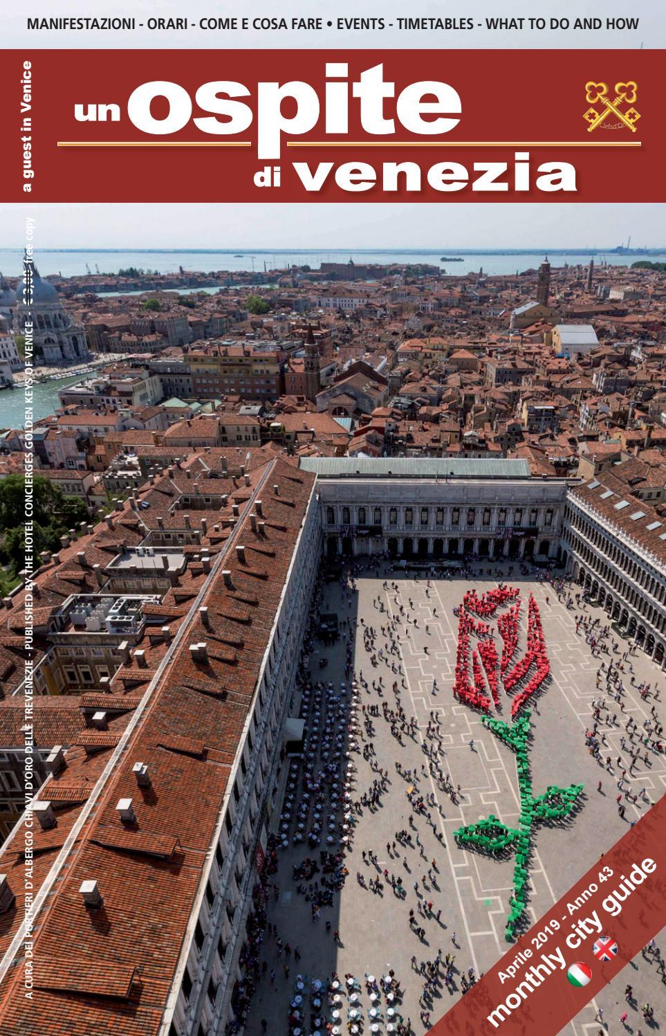 Un Ospite Di Venezia Aprile 2019 By Coop Chiavi D Oro Delle
